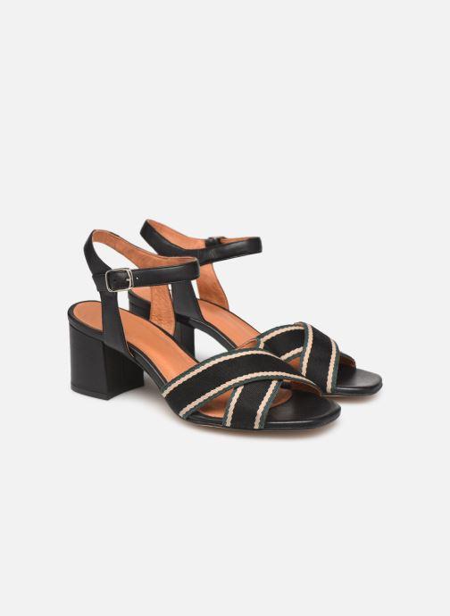 Sandales et nu-pieds Made by SARENZA Sport Party Sandales à Talons #4 Noir vue derrière