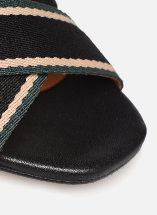 Sandales et nu-pieds Made by SARENZA Sport Party Sandales à Talons #4 Noir vue gauche