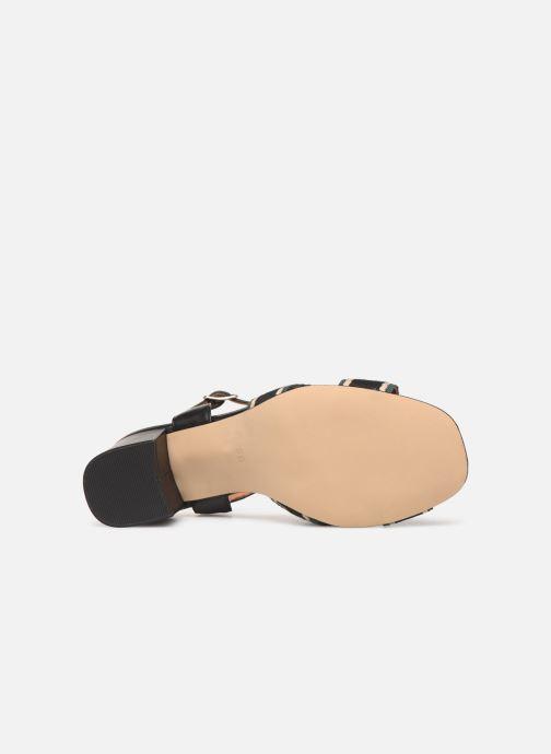 Sandales et nu-pieds Made by SARENZA Sport Party Sandales à Talons #4 Noir vue haut