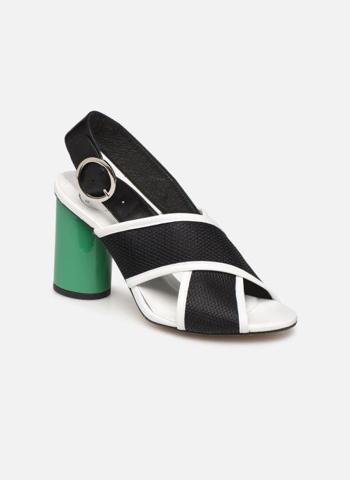 Sandales et nu-pieds Made by SARENZA Sport Party Sandales à Talons #6 Noir vue droite