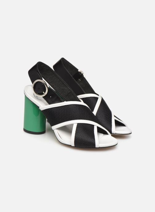 Sandales et nu-pieds Made by SARENZA Sport Party Sandales à Talons #6 Noir vue derrière