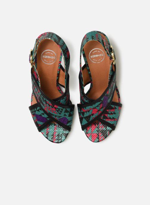 Sandales et nu-pieds Made by SARENZA Sport Party Sandales à Talons #6 Multicolore vue portées chaussures