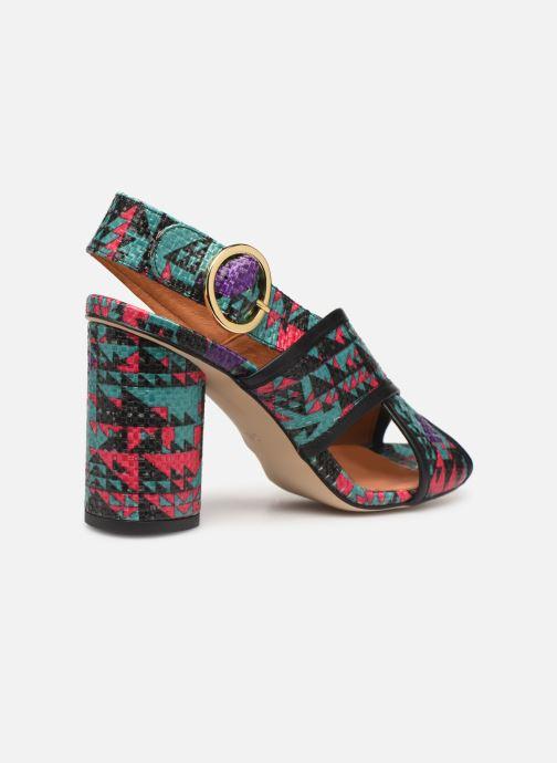 Sandales et nu-pieds Made by SARENZA Sport Party Sandales à Talons #6 Multicolore vue face