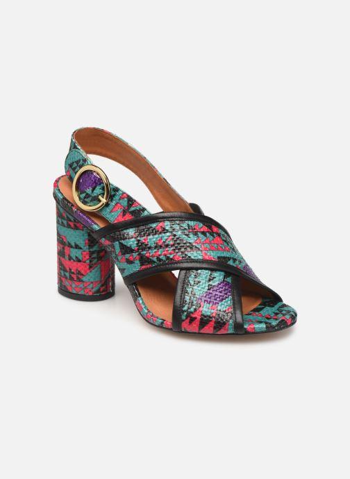 Sandales et nu-pieds Made by SARENZA Sport Party Sandales à Talons #6 Multicolore vue droite