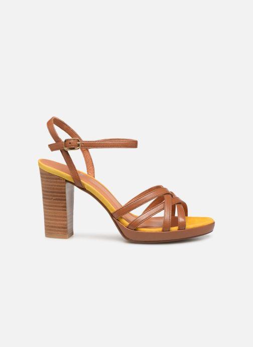 Sandales et nu-pieds Made by SARENZA UrbAfrican Sandales à Talons #8 Marron vue détail/paire