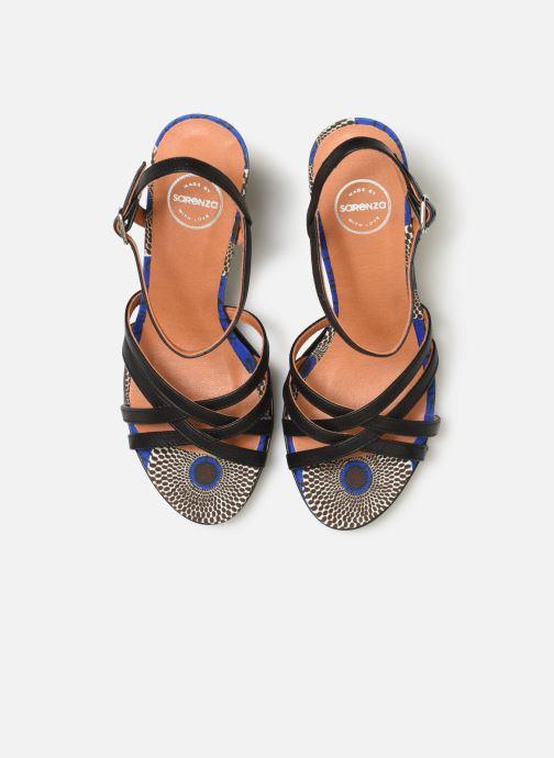 Sandali e scarpe aperte Made by SARENZA UrbAfrican Sandales à Talons #8 Nero modello indossato