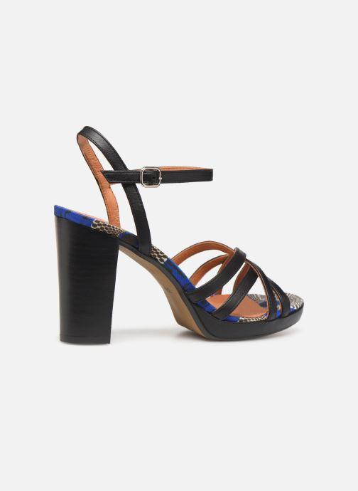 Sandales et nu-pieds Made by SARENZA UrbAfrican Sandales à Talons #8 Noir vue face