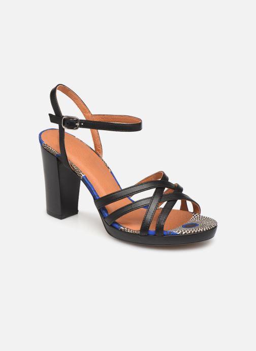 Sandales et nu-pieds Made by SARENZA UrbAfrican Sandales à Talons #8 Noir vue droite
