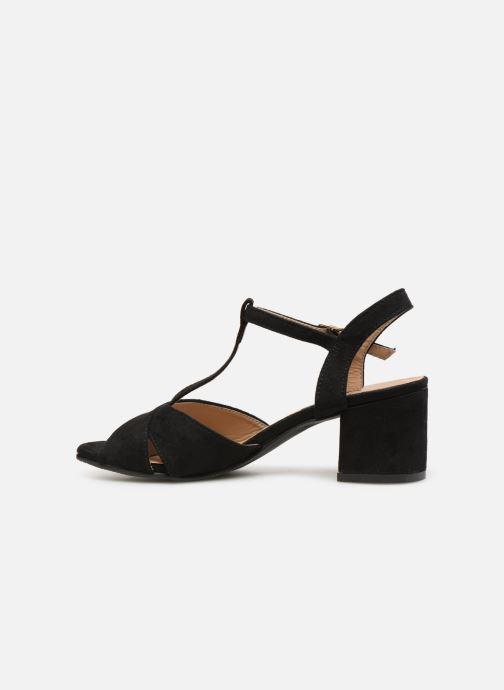 Sandales et nu-pieds Refresh 64330-Meka Noir vue face
