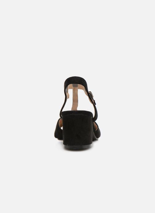 Sandales et nu-pieds Refresh 64330-Meka Noir vue droite