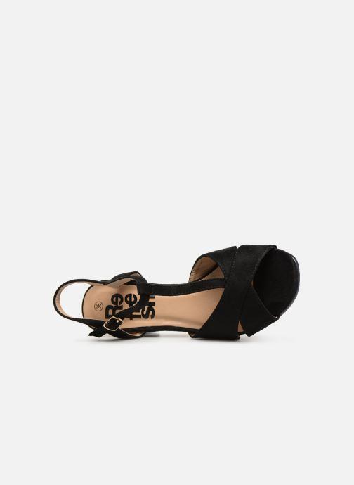 Sandales et nu-pieds Refresh 64330-Meka Noir vue gauche