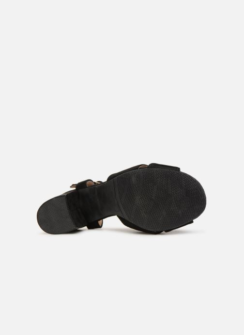 Sandals Refresh 64330-Meka Black view from above