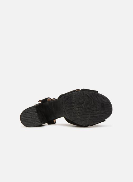 Sandalen Refresh 64330-Meka Zwart boven