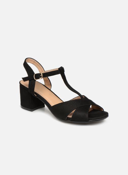 Sandales et nu-pieds Refresh 64330-Meka Noir vue détail/paire