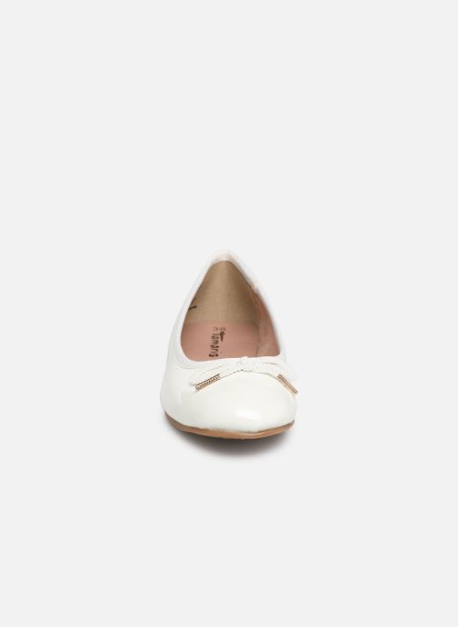 Ballet pumps Tamaris Sakura White model view