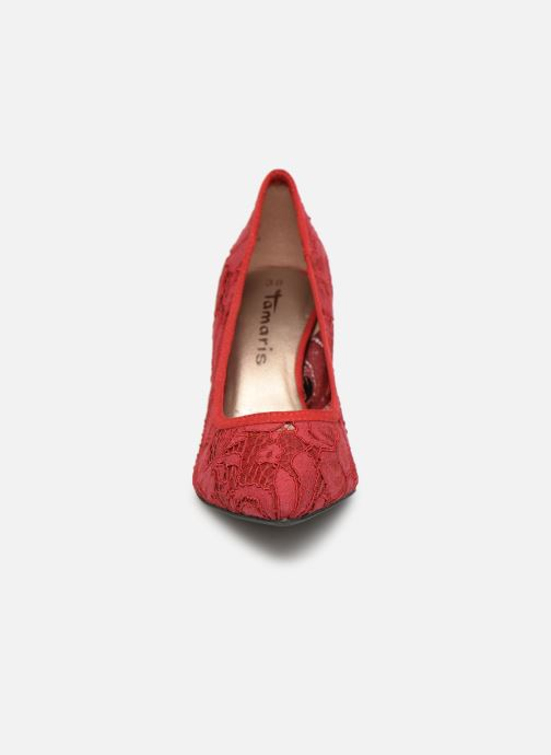 Escarpins Tamaris Cersei Rouge vue portées chaussures