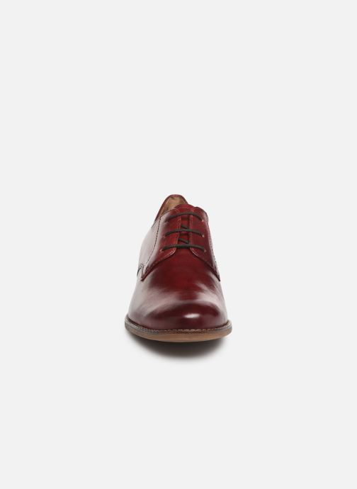 Lace-up shoes Tamaris Malika Burgundy model view