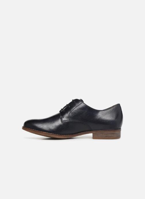 Chaussures à lacets Tamaris Malika Bleu vue face
