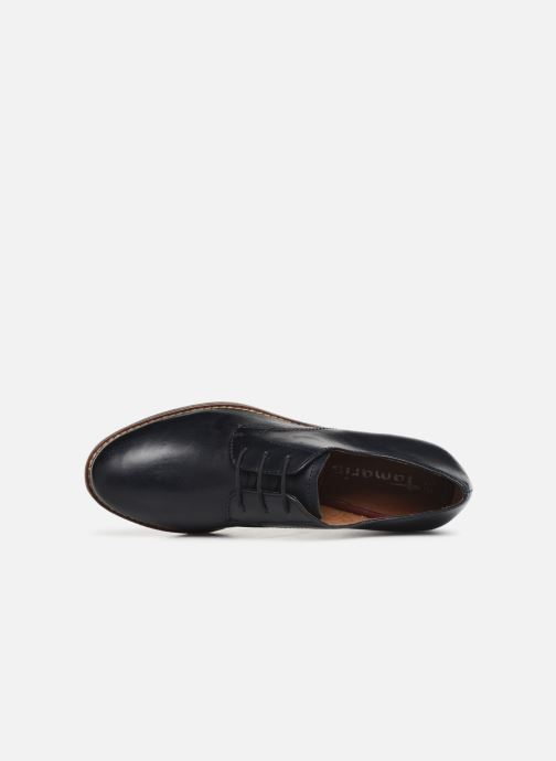 Chaussures à lacets Tamaris Malika Bleu vue gauche