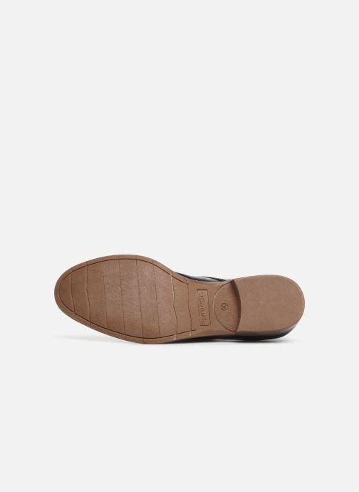Chaussures à lacets Tamaris Malika Bleu vue haut