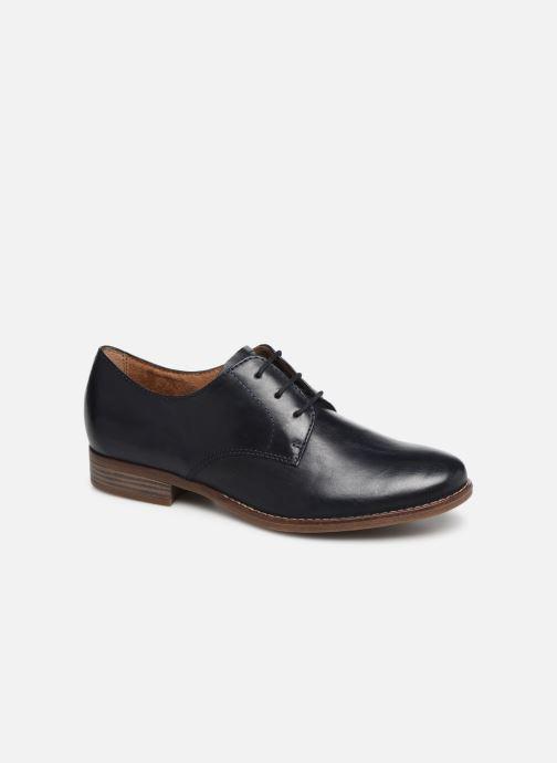 Chaussures à lacets Tamaris Malika Bleu vue détail/paire