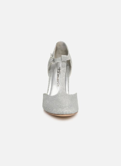 Escarpins Tamaris Suri 1 Argent vue portées chaussures