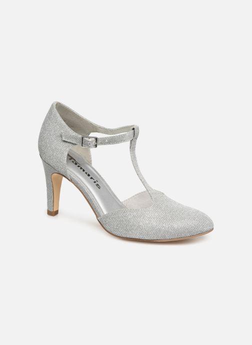 High heels Tamaris Suri 1 Silver detailed view/ Pair view
