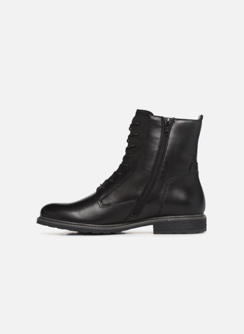 Boots en enkellaarsjes Tamaris Belin Zwart voorkant