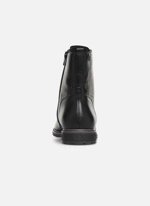 Boots en enkellaarsjes Tamaris Belin Zwart rechts