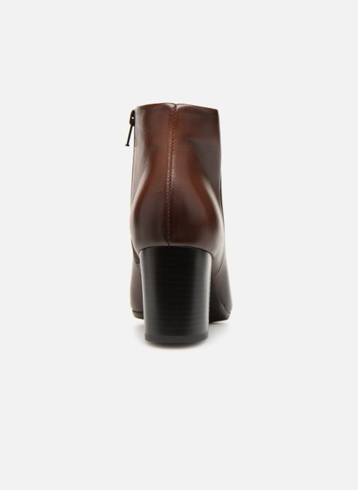Ankle boots Tamaris Base Brown view from the right