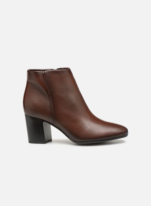 Ankle boots Tamaris Base Brown back view