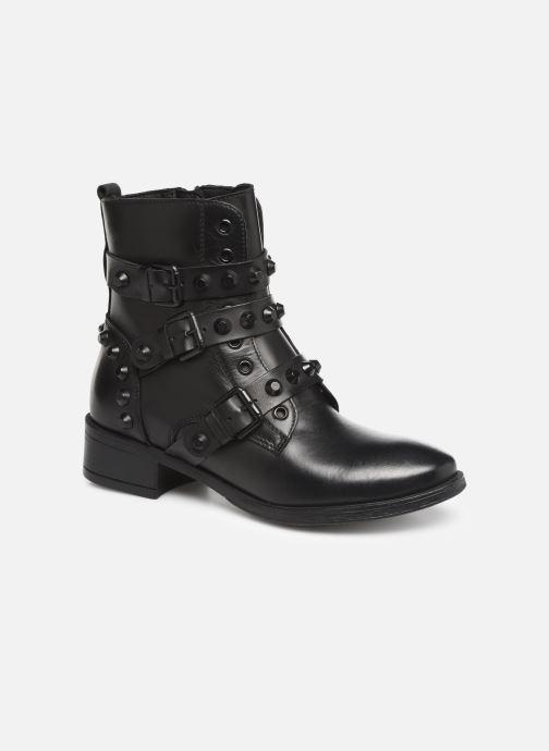 Ankle boots Tamaris Sasha Black detailed view/ Pair view