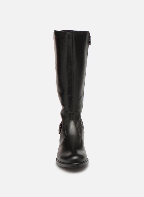Bottes Tamaris Jessy Noir vue portées chaussures