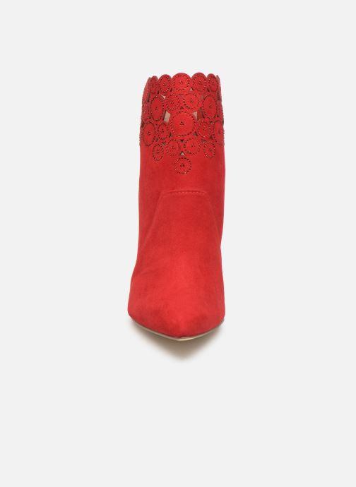 Bottines et boots Tamaris Idony Rouge vue portées chaussures