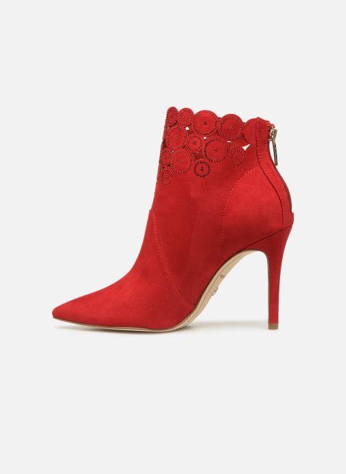 Bottines et boots Tamaris Idony Rouge vue face