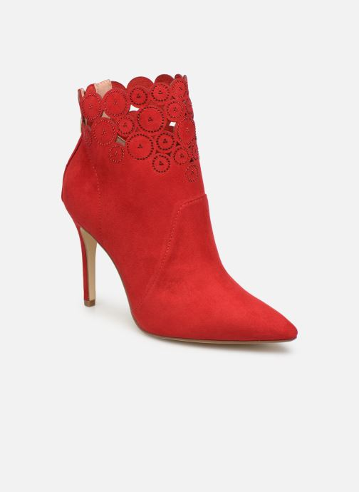 Ankle boots Tamaris Idony Red detailed view/ Pair view