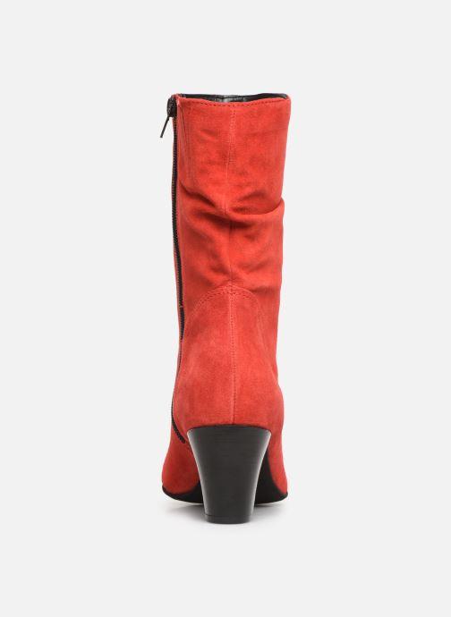Bottines et boots Tamaris Juna Rouge vue droite