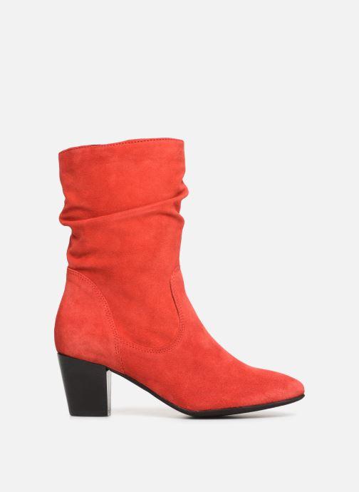 Bottines et boots Tamaris Juna Rouge vue derrière