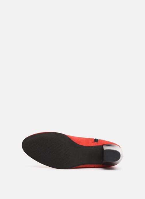 Bottines et boots Tamaris Juna Rouge vue haut