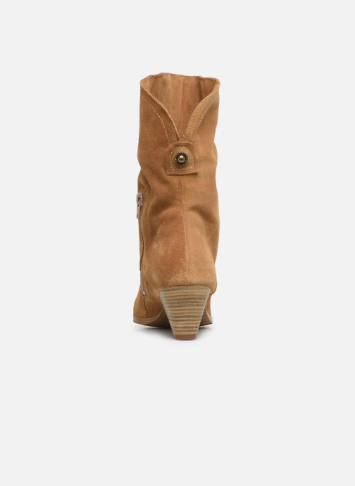 Bottines et boots Tamaris Fard Marron vue droite