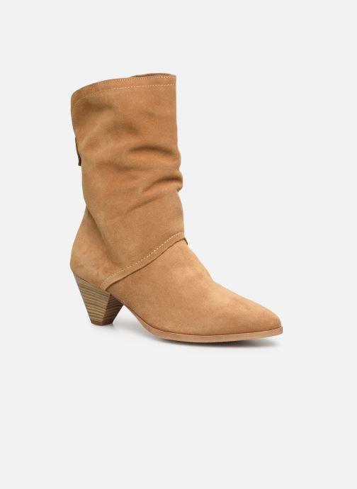 Bottines et boots Tamaris Fard Marron vue détail/paire