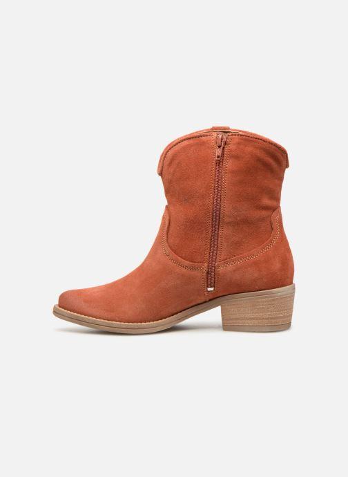 Bottines et boots Tamaris Glamo Rouge vue face