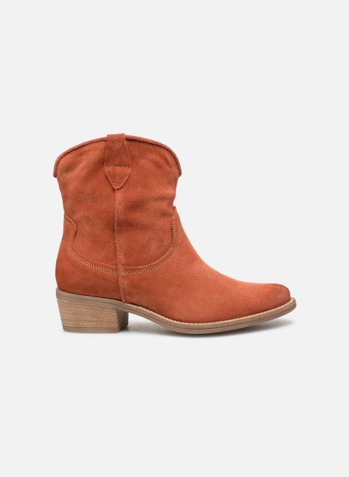 Bottines et boots Tamaris Glamo Rouge vue derrière