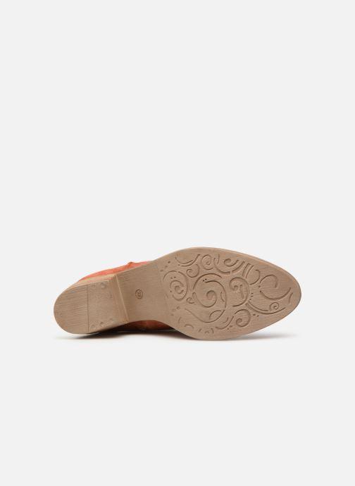 Bottines et boots Tamaris Glamo Rouge vue haut