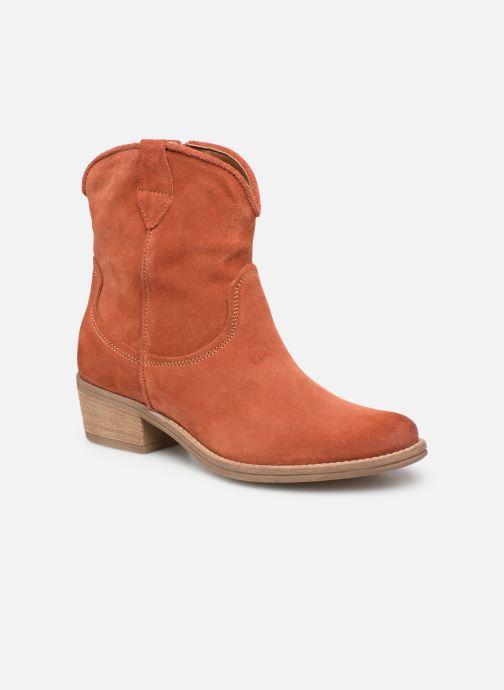 Bottines et boots Tamaris Glamo Rouge vue détail/paire