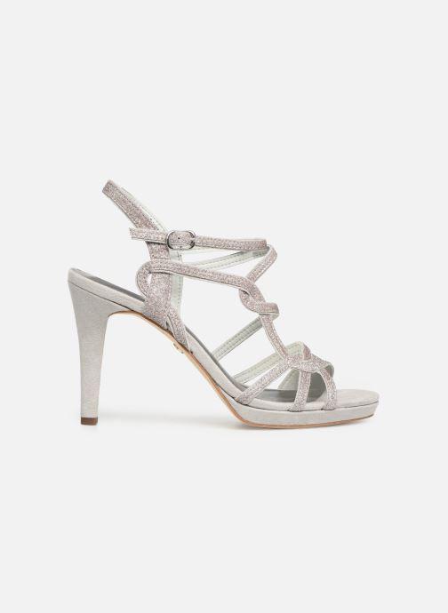High heels Tamaris Myggia Silver back view