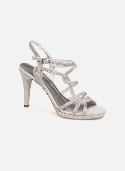 High heels Tamaris Myggia Silver detailed view/ Pair view