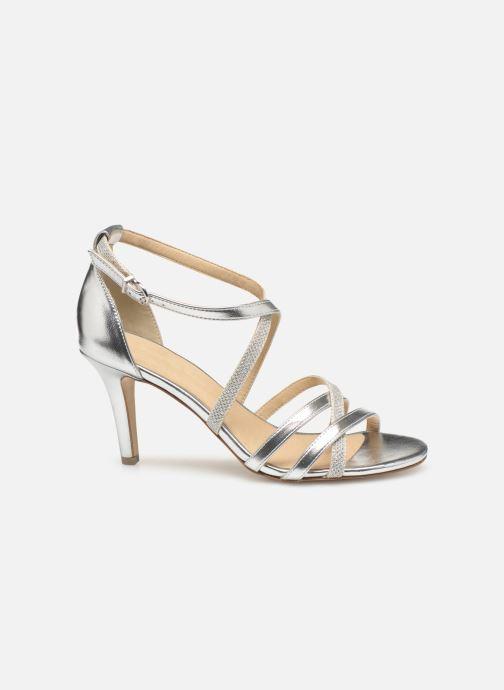 High heels Tamaris Heiti Silver back view