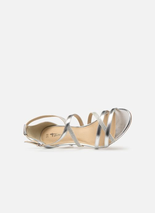 High heels Tamaris Heiti Silver view from the left