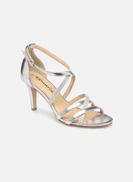 High heels Tamaris Heiti Silver detailed view/ Pair view